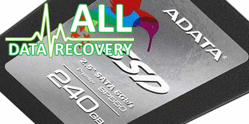 odzyskiwanie danych z SSD ADATA SP550